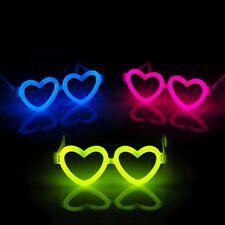 20 PCS DIY Heart-shape Glasses Frame For Glow Stick Luminous Light Up Neon Party