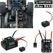 Hobbywing EZRun MAX6 Waterproof Brushless WP ESC 160A for 1/6 1/7 1/8 Buggy Car