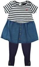 Tenues et ensembles bleus en polyester pour fille de 2 à 16 ans