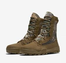 """Nike SFB 8"""" Jungle Realtree Camo Special Field Boots Coyote Brown Size 10.5 $180"""