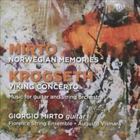 GIORGIO MIRTO; NORWEGIAN MEMORIES; GISLE KROGSETH: VIKING CONCERTO NEW CD