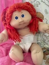 Cabbage Patch Kid Coleco*RARE RED Hair & Blue Eyes ~ Her Twin Found A New Home