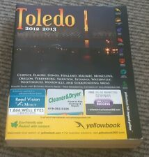 2012 2013 TOLEDO OHIO CITY DIRECTORY-Address-number PHONE BOOK YELLOW PAGES
