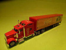 COCA COLA SANTA's CHRISTMAS TRUCK - HOLIDAYS ARE COMING - RARE SELTEN - GOOD