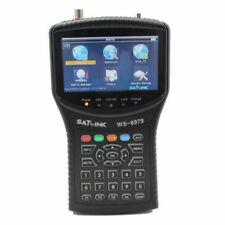 SATLink WS-6979 - Medidor de Señal Compatible con DVB-S, DVB-S2, DVB-T, DVB-T2 y HDTV - Negro