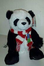 Gund Teddy Bear Plush Stuffed Animal Soft New Black White