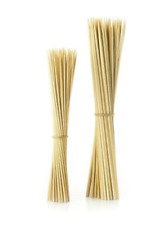 100 PACK Bamboo Skewers 10 Inch BBQ Wooden Sticks  Grilled Kabobs USA SELLER