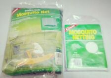 2 Coghlan's Mosquito Netting Canopy Net Insect Bee White Mesh Shade Cover