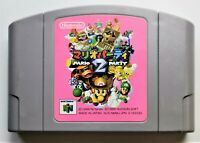 Mario Party 2 Video Game for Nintendo N64 NTSC-J Japanese TESTED