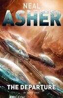 Complete Set Series - Lot of 3 Owner Trilogy books by Neal Asher Departure Zero