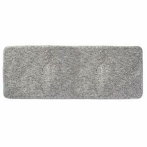 """mDesign Soft Microfiber X-Long Accent Rug Mat/Runner, 60"""" x 21"""" - Gray"""