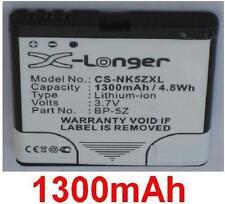 Batterie 1300mAh type BP-5Z Pour Nokia 700, Nokia Zeta