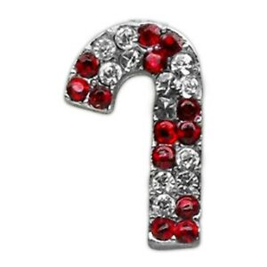 Holiday 10mm Slider Charms Candy Cane