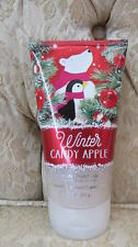 Bath And Body Works Winter Candy Apple Sparkling Body Scrub 8 Oz Limited Edition