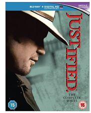 Justified The Complete Series Seasons 1-6 Blu-ray 1 2 3 4 5 6 Region Free New