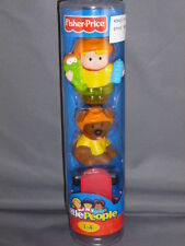 Fisher Price Little People NEW Tube Skateboard Eddie with Dog