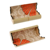 Handmade Vintage Men Women Bamboo Wooden Sunglasses Box Frame Glasses Case New Q