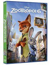 ZOOTROPOLIS DVD NUEVO ( SIN ABRIR ) DISNEY