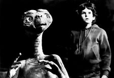 E.T. Poster, Extra Terrestrial, ET & Elliot, Alien, Classic 1980's Movie
