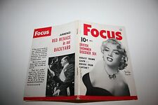 MARILYN MONROE May 1953 FOCUS Magazine Dawn Addams Charles Coburn Red Menace