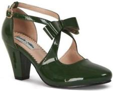 Collectif Lulu Hun Mona Green Patent High Heel Shoes