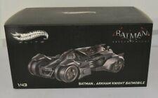 HOT WHEELS ELITE BATMAN ARKHAM KNIGHT BATMOBILE 1/43 SCALE NEW