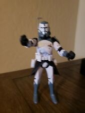 Star Wars Black Series 6 Inch Clone Commander Wolffe Complete
