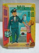 Vintage Rand McNally Children's Books Milkman Bill c1960