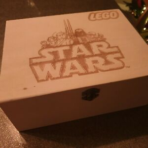 Lego Star wars wooden Storage Box can be personalized
