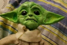 Baby Yoda doll from Mandalorian Star Wars figure handcrafted