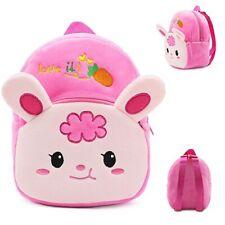 Plush Toddler Cute Baby Animal Character Rucksack Kids Mini Ultra Soft Backpack