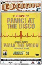 "PANIC AT THE DISCO / WALK THE MOON ""GOSPEL TOUR"" 2014 PORTLAND CONCERT POSTER"