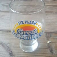 vintage Six Flags Great Adventure Glass Cup