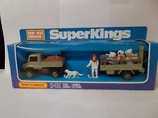 matchbox superkings k-32 farm unimog set vintage 1979 boxed