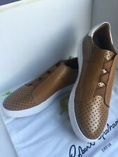 $219.00 Robert Graham Men's Rowley Laceless Perforated  Fashion Sneakers size 10