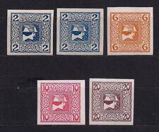 ANK 157-160x , ZEITUNGSMARKEN 1908 , KREIDEPAPIER , POSTFRISCH !