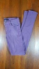 Joes jeans the skinny pants purple sz 27