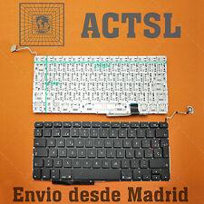 Teclado Español para Apple Macbook Pro A1297 Black