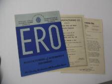1935 ERO Mfg Co Automotive Equipment Catalog Los Angeles Tools More Vintage ORIG