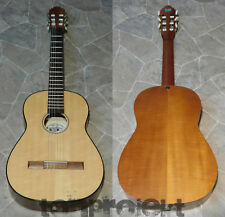 vintage HOPF floating neck 3/4 Konzertgitarre Klassik Gitarre Germany vollmassiv