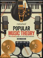 Rockschool Popular Music Theory Grades 6-8 guide essentiel pour Rock & Pop