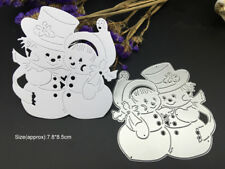 Christmas Snowman Winter Metal Cutting Dies Scrapbooking Cards Embossing Craft