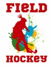 """New listing Field Hockey: Girls Field Hockey White Background College Ruled 110 Page 8.5""""..."""