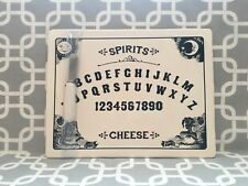 Magenta OUIJA Board Spirits CHEESE cutting board w knife. New!!