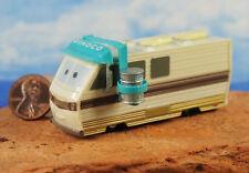 DISNEY PIXAR CARS BARRY DIESEL DINOCO RV MOTORHOME Toy Cake Topper Model Decor