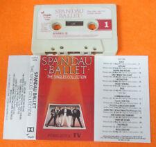 MC SPANDAU BALLET The singles collection 1985 italy CHRYSALIS no cd lp dvd vhs