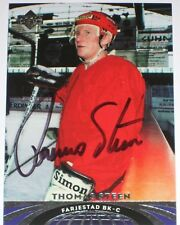 THOMAS STEEN SIGNED UPPER DECK ALL-WORLD CARD AUTOGRAPH AUTO!!!