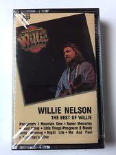 "WILLIE NELSON CASSETTE ""THE BEST OF WILLIE""  NEW & SEALED"
