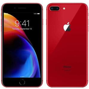 Apple iPhone 8 Plus 64GB 128GB 256GB RED Unlocked GSM+CDMA Warranty Grades A/B/C