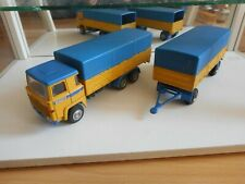 Nacoral Scania 141 + Trailer in Yellow/Blue on 1:50